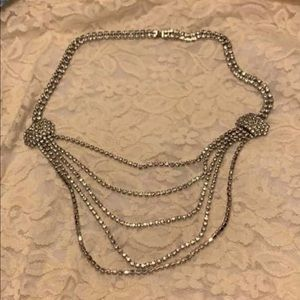 ESTATE ITEM Costume Silver Plated Necklace